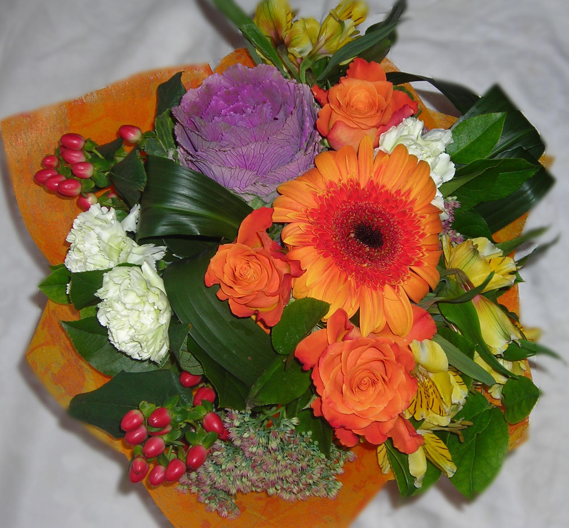 Мастер классы букеты из живых цветов фото